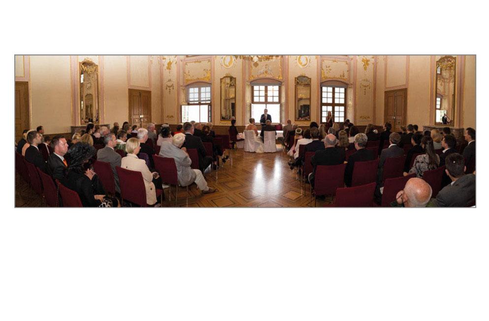 Trauungssaal im neuen Schloss in Meersburg